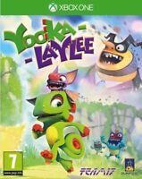 yooka-laylee XBOX ONE - Jeu pour X1 1 NEUF scellé VENDEUR Royaume-Uni 7+