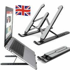 More details for adjustable laptop stand folding portable desktop holder office support uk
