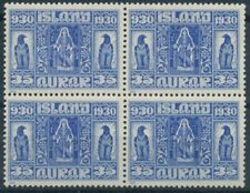 Iceland Scott 160 in Block of 4 MNH.
