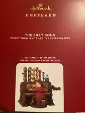2020 Hallmark Keepsake Disney Snow White The Silly Song Ornament