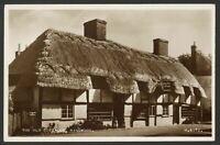 Ringwood, Hampshire. The Old Cottages. Vintage Valentine's Real Photo Postcard