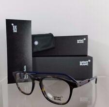 New Authentic MONT Blanc Eyeglasses MB 632 056 Navy Tortoise Frame 50mm 632