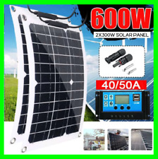 300W 600W Watt Portable Monocrystalline Solar Panel 18V Car Battery Charger