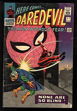Daredevil (1964) #17 1st Print Spider-Man App Stan Lee John Romita Cov & Art Vg