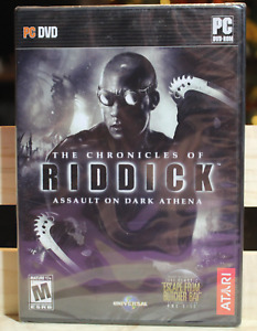 CHRONICLES OF RIDDICK: ASSAULT ON DARK ATHENA  (PC DVD) NEW FACTORY SEALED