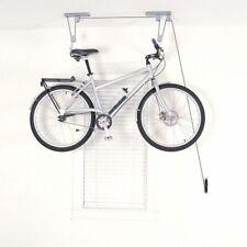 Sistema Ganchos Poleas Para Colgar Bicicleta al Techo Soporte Pared Hasta 20kg