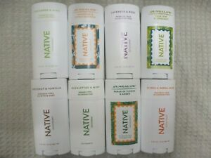 NATIVE DEODORANT~U PICK TYPE & FROM 71 SCENTS~VARIOUS SIZES 0.35 - 3 OZ