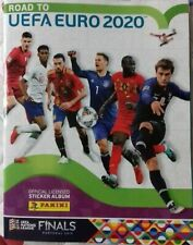 PANINI ROAD TO EURO 2020 COMPLETE STICKERS SET + ALBUM FULL COLLECTION