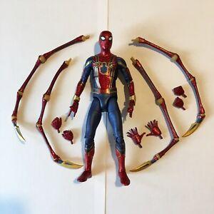Marvel Select Spider-Man Iron Spider Avengers: Infinity War MCU Rare