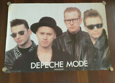 ORIGINAL DEPECHE MODE POSTER 60 X 84 CM SIZE PLUS SMALL PIN UP POSTER FROM BRAVO