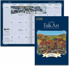 FOLK ART - 2021 POCKET PLANNER CALENDAR - BRAND NEW - LANG ART 03162