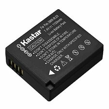 1x Kastar Battery for Panasonic Lumix DMW-BLE9 DMC-GF3 DMC-GF5 DMC-GF6 DMC-GX7