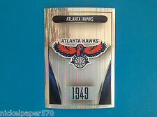 2014-15 Panini NBA Sticker Collection N.141 ATLANTA HAWKS LOGO