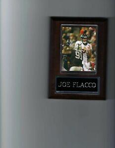 JOE FLACCO PLAQUE DENVER BRONCOS FOOTBALL NFL