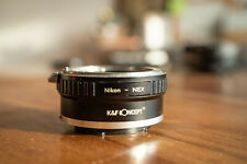 Nikon to NEX Sony E K&F Concept lens ADAPTER - sony a7s a7III a6600 a9 a7rIII