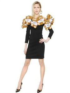 MOSCHINO Iconic Teddy Bear Mini Dress
