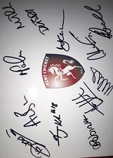 Signed A4 Kent Cricket Heino Kuhn Matt Renshaw Adam Riley Allan Donald Etc