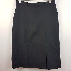 [ VINTAGE ] Womens 1980's Large Pleat Skirt | Size AU 14 or US 10