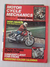 Motorcycle Mechanics Magazine February 1975, DKW Wankel