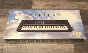 Nintendo NES Miracle Piano Teaching System CIB W/ Adjustable Quik Lok Stand