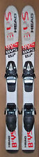 87 cm Head junior skis bindings + size 11 ski boots