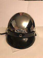 Cyber Motorcycle Helmet U-69PC Chrome Size M