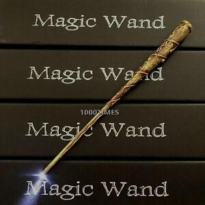 Harry Potter Hogwarts Hermione Magic Wand Wizard w/ LED Light Cosplay Costume