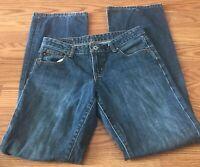Ralph Lauren Womens Low Rise Kelly Jean Size 4x34 Polo Jeans EUC