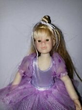 OHC ONLY HEARTS CLUB KARINA GRACE BALLERINA DOLL PURPLE 9""