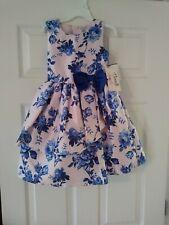 Stunning Little Girls Princess Dress Size 5T. Flora Blue Decorations