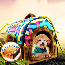 Fashion Warm Pet Bed House Fleeced Soft Cat Dog Bed Winter Summer Two Use 4 Size