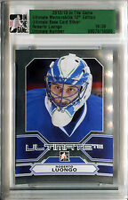 2012-13 ITG Ultimate ROBERTO LUONGO Slabbed Silver Base Vancouver Canucks SP /30