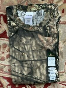 NWT Mossy Oak T-Shirt Authentic Camo Tank Top Hunting sleeveless sz L large