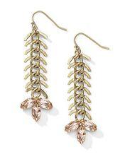 """Mermaid Tail Earrings Cookie Lee NWT 2 1/2"""" long"""