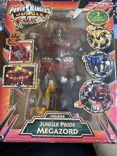 Power Rangers Jungle Fury Deluxe Jungle Pride Megazord Very Good  Bandai # 30086