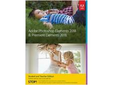 Adobe Photoshop & Premiere Elements 2018 - Student and Teacher Edition - Validat