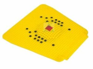 Acupressure Health Care Products Plastic Acp Power Mat Iv 2000 (Yellow)