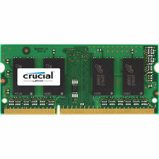 Crucial 8GB Single DDR3L 1600 MT/s (PC3L-12800) SODIMM 204-Pin Laptop Memory ...