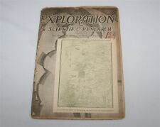 Pan-American Society of Tropical Research Exploration Scientific Winter 1940