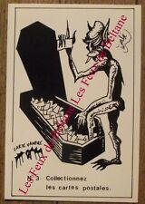 Carte postale Vampire,cerceuil , émbé , Le Bris 100 ex.CPSM