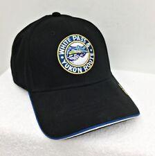 Brand New 2018 White Pass & Yukon Route Black Baseball Cap Skagway Ak Train Souv