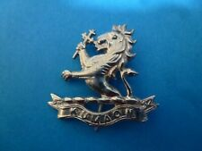 Indian Army Kumaon Regiment Chrome Plated Original Badge (#121)
