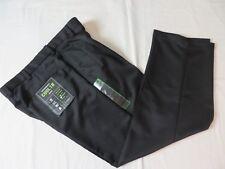 Haggar Performance Cool 18 Pants Pleats Expandable waistband Black 32x29 #6941