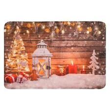 Christmas Welcome Doormats Carpets Kitchen Mat Bath Carpet Bedroom Living Roo BG