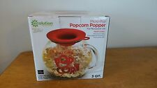 Ecolution with Ryan Scott 3qt Micro Pop Glass Popcorn Popper-NEW