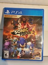 PS4 - SONIC FORCES, 2017