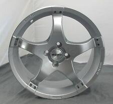 New 17 x 7 MOMO X43 Car Wheel Rim X-43 Silver - 4 x 100 - X4370740042S