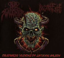 Paganfire / Nunslaughter - Obscured Visions Of Satanic Arson   CD  / Digipack