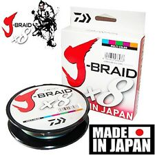Daiwa J-BRAID Braided 40-500MU Line 40lb 550yd 550 yds 500 Meter MULTI-COLOR