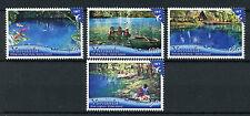 Vanuatu 2017 MNH Blue Swimming Holes 4v Set Trees Tourism Landscapes Stamps
